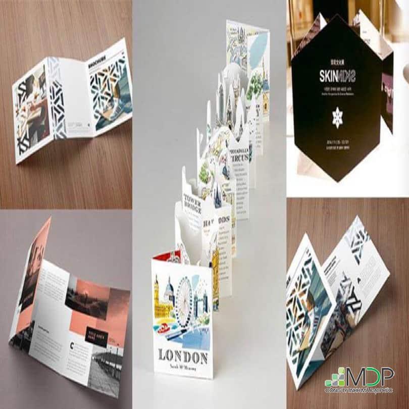 Cách phân loại các loại brochure hiện nay mà bạn không nên bỏ qua