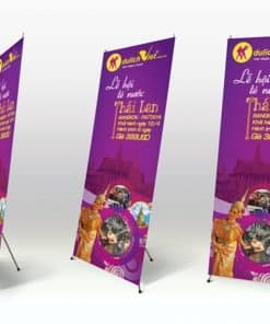 Dịch vụ in standee lấy ngay